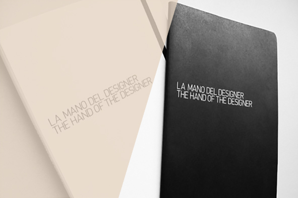 The hand of the designer / Libro