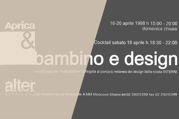 Design e Bambini