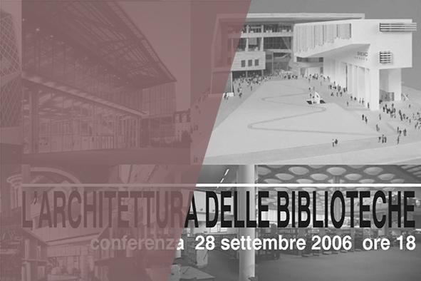 L'architettura delle biblioteche