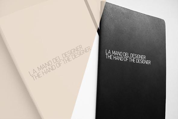The hand of the designer / Libro